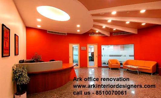 Office renovation work contractor